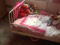 IKEA extending toddler bed