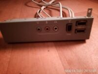 Front audio USB ports, can deliver