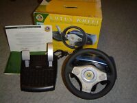 Official Lotus Dual Force 2 Steering Wheel & Pedals for Playstation PS Games Console