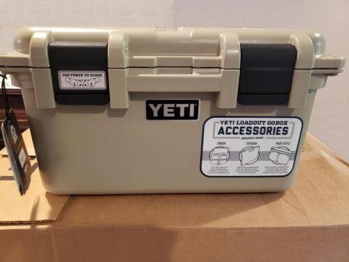 YETI LoadOut GoBox 30 Tan - Free Shipping