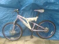 swap my Sabre Sahara 24speed 18 gears front n rear disc mountain bike for samsung phone