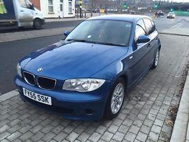 2005 BMW 118d 6 speed 5 door hatchback blue 120d 2.0 turbo diesel