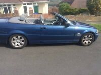 BMW 3 SERIES CONVERTABLE STUNNING CAR £1400