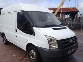 2008 Ford Transit 85 T260 s FWD van NO VAT px welcome