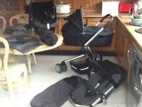 Quinny buzz black/grey travel system