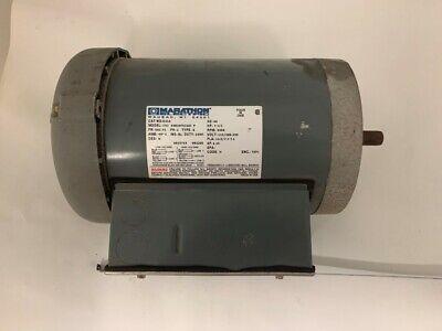 Marathon Electric Motor Model Cvj 56b34f5326j P Hp 1 12 Rpm 3450