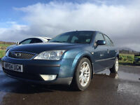 2004 MONDEO TDCI, (NOT OLD TAXI ) 150K MOT JUNE , TOW BAR & ELECTRIC'S 6£99