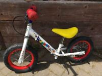 12 inch Balance bike £15 collection from Shepshed.