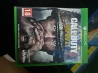 Call of Duty WWII for Xbox One.