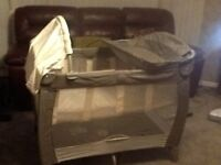 Travel cot Graco REDUCED