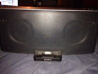 NEED GONE.....iphone/ipad/ipod/aux/bluetooth dock