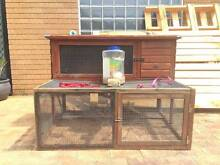 Rabbit Hutch and Set - Food, Toys, Leashes, Bottles + Included North Gosford Gosford Area Preview