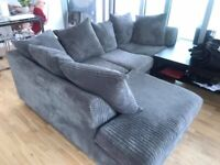 BRAND NEW DYLAN JUMBO CORD CORNER SOFA IS AVAILABLE IN LOVELY COLOURS IN NEW STOCK