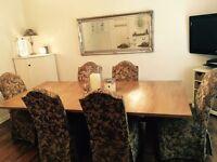 Bassett large dining table