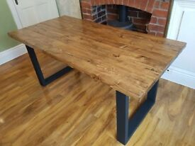 New Handmade Farmhouse Reclaimed Dining Table 160cm x 88cm available every size