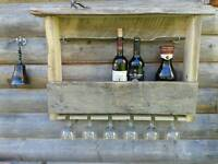 New Rustic wood wine rack