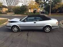 1995 Saab 900SE Convertible Campbell North Canberra Preview