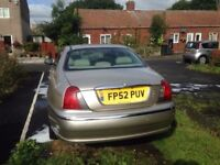 Rover 75 Diesel Automatic.
