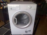 7kg hotpoint condenser dryer less than 18months old