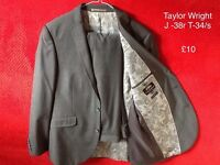 Men's Suits, Next and M&S, all in excellent cond, info on pictures.