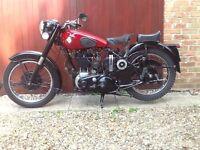 BSA M33 500cc for sale