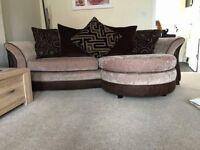 DFS Suite - Lounger Sofa & Pouffe