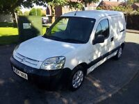 54 plate berlingo van with mot till april and only 113000 miles