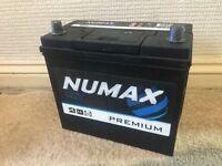 Numax 12v 45ah car battery