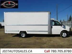 2009 GMC Savana Van 3500 Truck 6.0L V8 Morgan 16Body