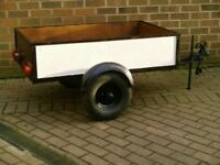 High Quality Car Trailer / full electrics etc
