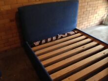 Double Wooden Upholstered Bed North Parramatta Parramatta Area Preview
