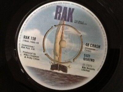 SUZI QUATRO . 48 CRASH . 1973 GLAM