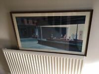 Nighthawks - Edward Hopper print picture frame