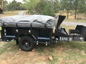 2017 Off- Road Alpha Camper Trailer Black Series