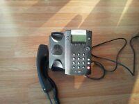 6 New Polycom VVX201 Voip Phones