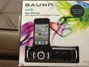 Brand New BAUHN Car Stereo with Bluetooth & Phone Cradle Morley Bayswater Area Preview
