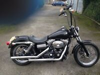 '05 Harley Davidson Dyna Street Bob Vance and Hines Very good condition £6950 For Quick Sale