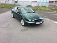 Jaguar x type 2.5 awd 53 plate