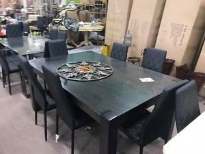 LAST DAY!!! MASSIVE WAREHOUSE BLOWOUT TABLE AND 6 CHAIRS only $399