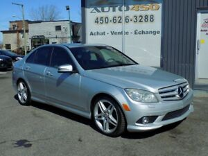MERCEDES-BRNZ C350 2010 4 MATIC***4X4,CUIR,TOIT,BLUETOOTH***
