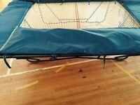 School Trampoline Indoor Blue