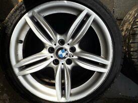 "2012 BMW MSPORT ALLOYS 19"""