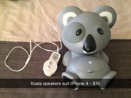 iPhone 4 docking station and speakers