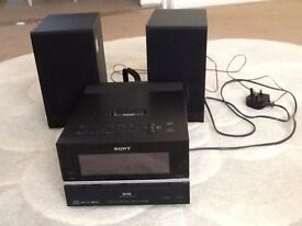 SONY mini stereo system with dab radio,MP3,CD in excellent condition