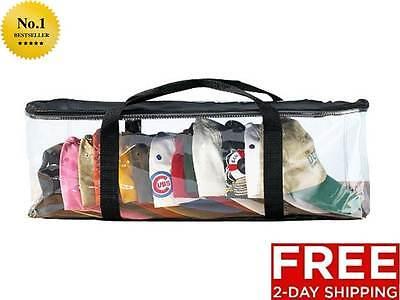 Baseball Hat Holder Storage Cap Bag Travel Organizer Rack Case New Free Shipping](Bag Rack)