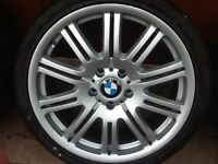 19 BMW M3 REPLICAS,5 120 FITMENT NEW TYRES GREAT WHEELS