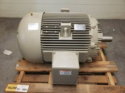 General Electric 100 Hp 1195 Rpm 444t Frame 460 Volts Electric Motor 5ks444saa30