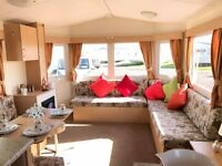 """ Bedroom Family Static Caravan For Sale At Sandylands Saltcoats Near Wemyys Bay & Sundrun Castle"
