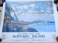 Ulster Travel Poster