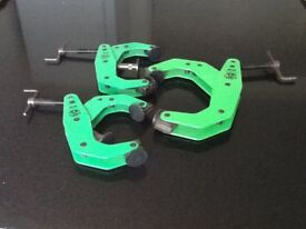 3 X NEW CRAB CLAMPS